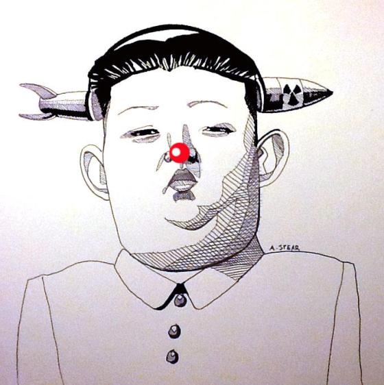 Kim Jong Un is a Total Clown by Andrew Spearspearlife.com